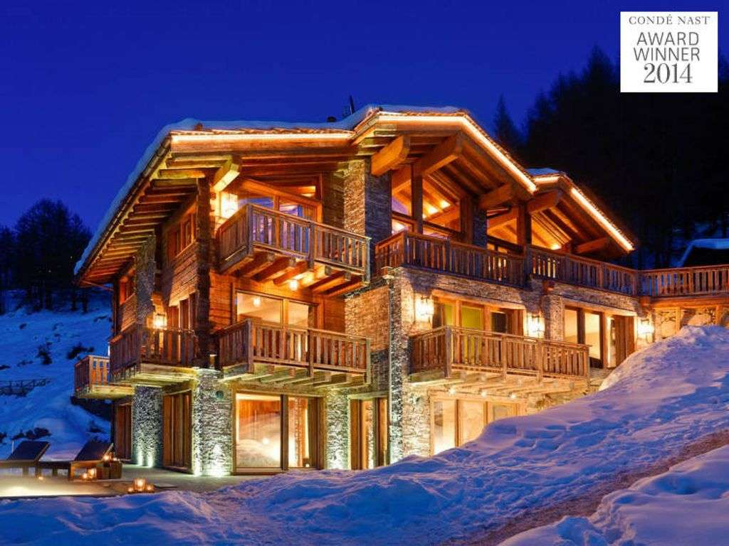 LES ANGES - FULLY CATERED 7 BEDROOM CHALET